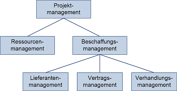Beschaffungsmanagement in Projekten: Einordnung, (C) Peterjohann Consulting, 2018-2020