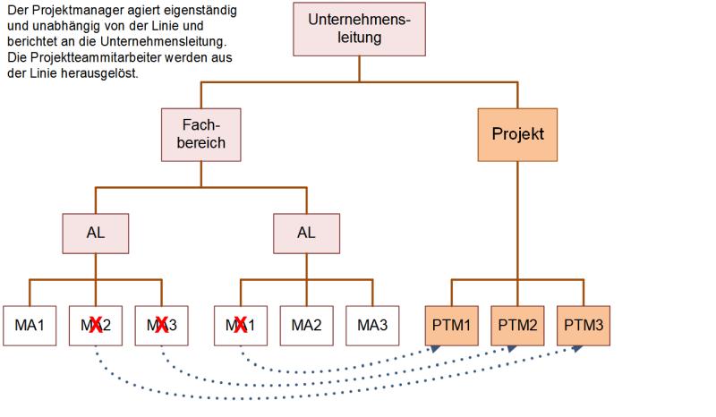Reine Projektorganisation, (C) Peterjohann Consulting, 2018-2020