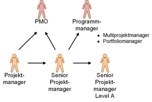 Karrierepfade für Projektmanager, (C) Peterjohann Consulting, 2020-2021