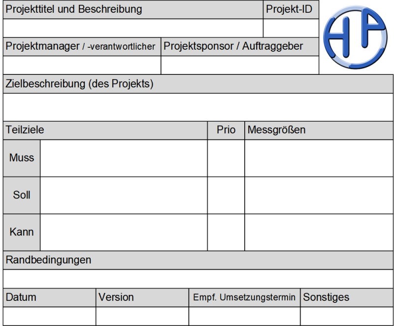 Der Zielkatalog (Formular), (C) Peterjohann Consulting, 2020-2021